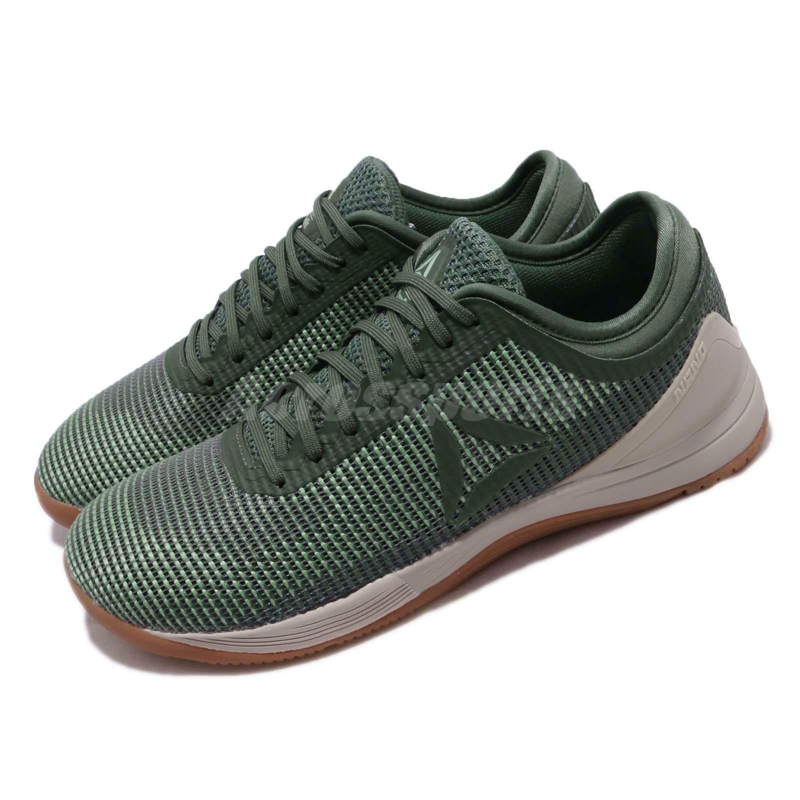 Reebok R Cross CrossFit Nano 8.0 VIII Verde Hombre Cross R Training Gym Zapatos CN2971 0ce841