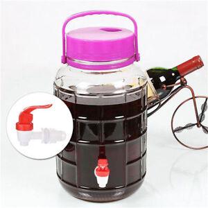 DIY-Wine-Beer-Bottling-Homebrew-Bucket-Barrel-Plastic-Spigot-Tap-Replacement