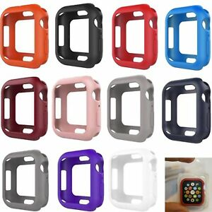 Slim-Silicone-Bumper-Frame-Protector-Case-Cover-For-Apple-Watch-Series-4-40-44mm