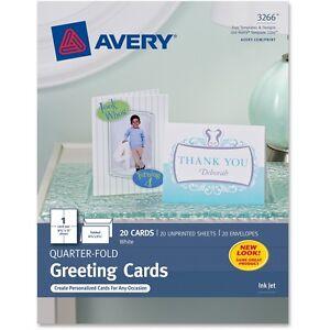 Avery-Quarter-Fold-Card-4-1-4-034-x5-1-2-034-20-Cards-Env-White-03266