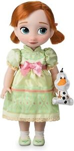 Disney Frozen Anna Animator collection poupée 39 cm de hauteur & Olaf Jouet Doux