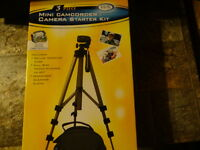 Digital Concepts Mini Camcorder Or Camera Tripod And Carry Case 19960r