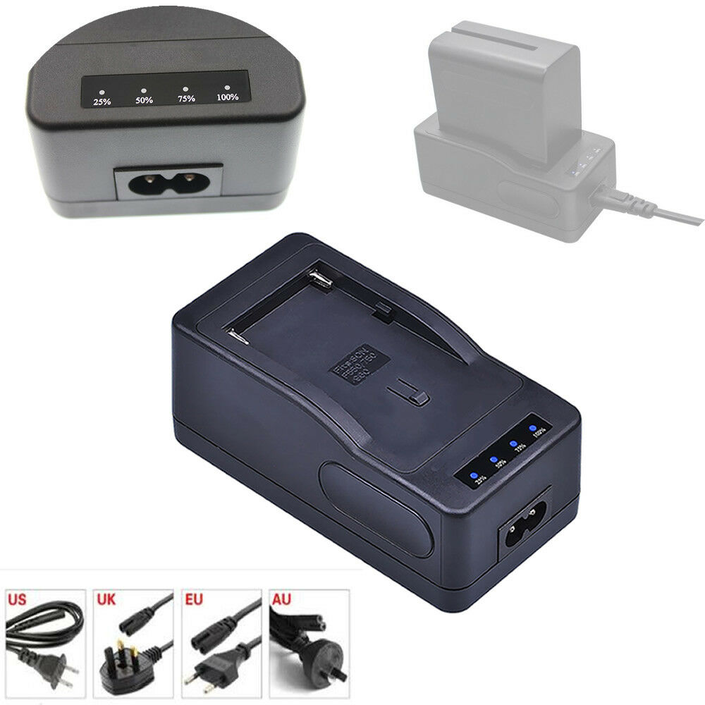 Battery super rapid quick Charger for Sony NP-F970/B NP-F970B NPF970/B