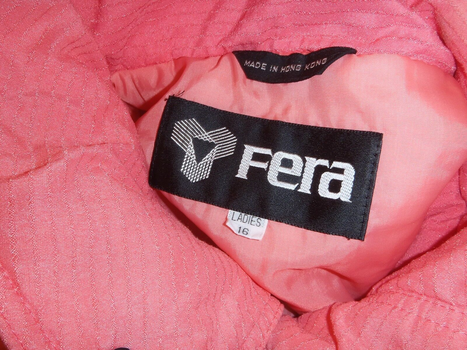 Damens's full length ski outfit Größe 16 by Fera