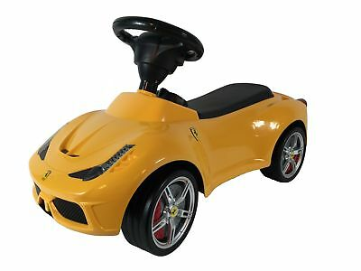 Vereinigt Kinderauto Ferrari 458 Rutschauto Rutschauto Auto Kinderauto Rutscher Ein BrüLlender Handel Spielzeug Bobby Car