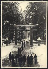 nikko-japan-toshogu-Kantō-Tochigi-GERMAN SOLDIERS WEHRMACHT-OLD PHOTO-1