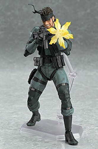 figma METAL GEAR SOLID 2 SONS OF LIBERTY Solid Snake Japan version