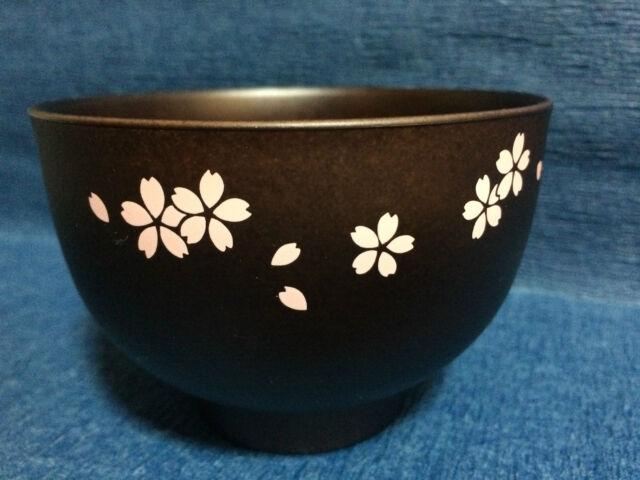 1 x Japanese Miso Soup Bowl - Made in Japan - Sakura / Cherry Blossom design
