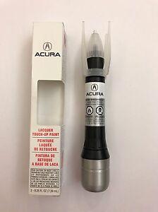 Genuine OEM Honda Acura Touch Up Paint NHM Lunar Silver Metallic - Acura touch up paint