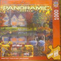 Masterpieces Autumn Grace Panoramic Jigsaw Puzzle