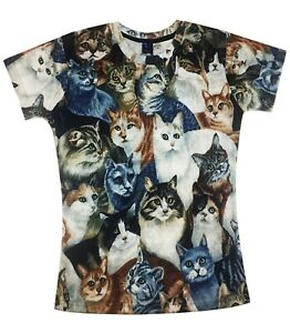 Les-chats-All-Over-T-Shirt-Drole-Mignon-Chats-Animal-Lover-t-shirt-v2