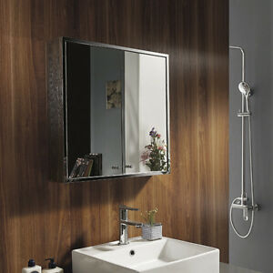 BN-Quality-Wall-Mounted-Bathroom-Mirror-Cabinet-Storage-Stainless-Steel