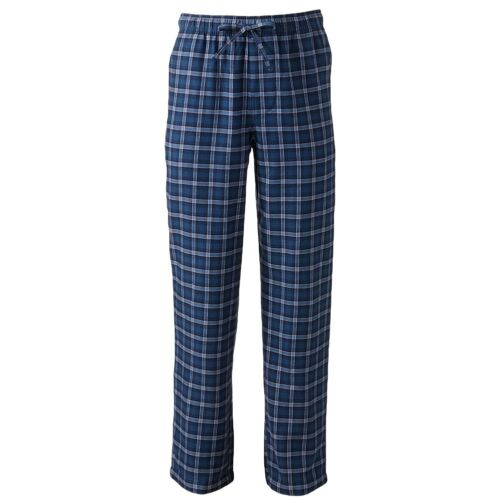 New Croft /& Barrow Men/'s Plaid Flannel Lounge//Pajama PJ Pants Size 2XL MSRP $24