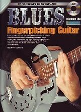 2019 Nouveau Style Progressive Blues Picking Guitar Book & Cd-afficher Le Titre D'origine Haute Qualité