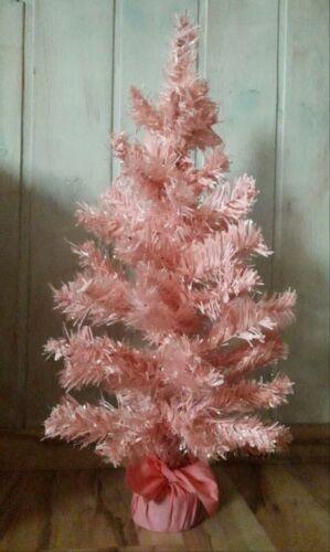 Tannenbaum Weihnachtsbaum rosa  60 cm