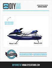 GTS GTX SEA DOO BLUE & SILVER Seat Skin Cover 97 98 99 00-1