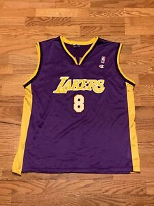 Details about VINTAGE Champion NBA Kobe Bryant Los Angeles Lakers Jersey Classic Adult Large