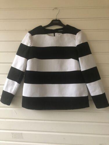 Marimekko Populi Shirt Comfy Cut  Iconic Stripe  1