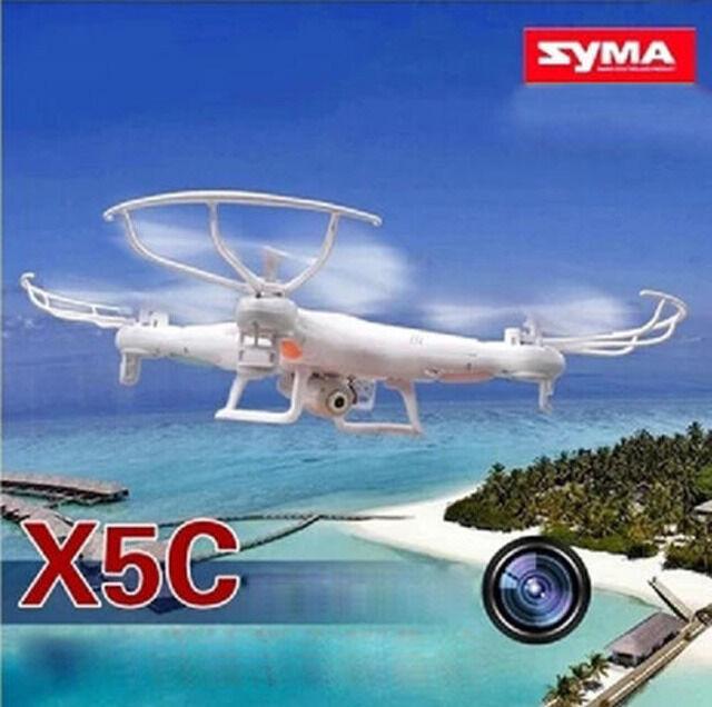 360  syma x5c entdecker 2.4ghz 4ch 6 - achs - rc quadcopter w   hd - kamera (rtf)