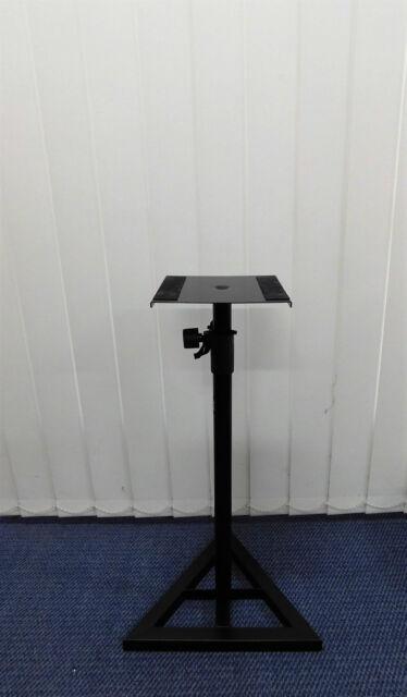 Haze Height Adjustable HD Metal Speaker Stand Black SS015