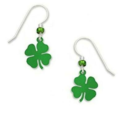 Sienna-Sky-Jewelry-4-LEAF-CLOVER-Earrings-1136-STERLING-Silver-Four-Dangle