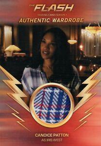 Details about The Flash Season 1, Candice Patton 'Iris West' Wardrobe Card  M02
