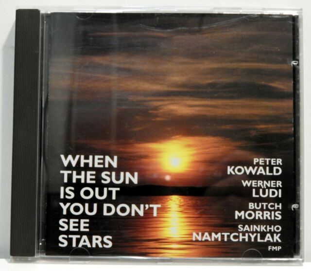 Kowald/Lüdi - When the Sun Is Out You Don't See Stars - 1992 FMP CD 38 - NM (109