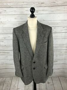 Uomo Condizioni Giacca Donegal Tween Medium di ottime giacca Grigio 44 qwpTxa