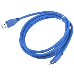6ft-USB-3-0-Power-Charger-Data-Cable-Cord-for-Maxtor-External-Hard-Drive-Disk