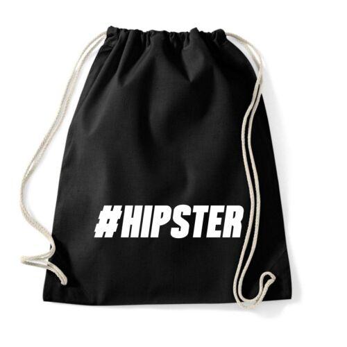 #hipster Gymbag turn Sacca Gymsac Zaino Sport Bustina Sacchetto Juta Hipster