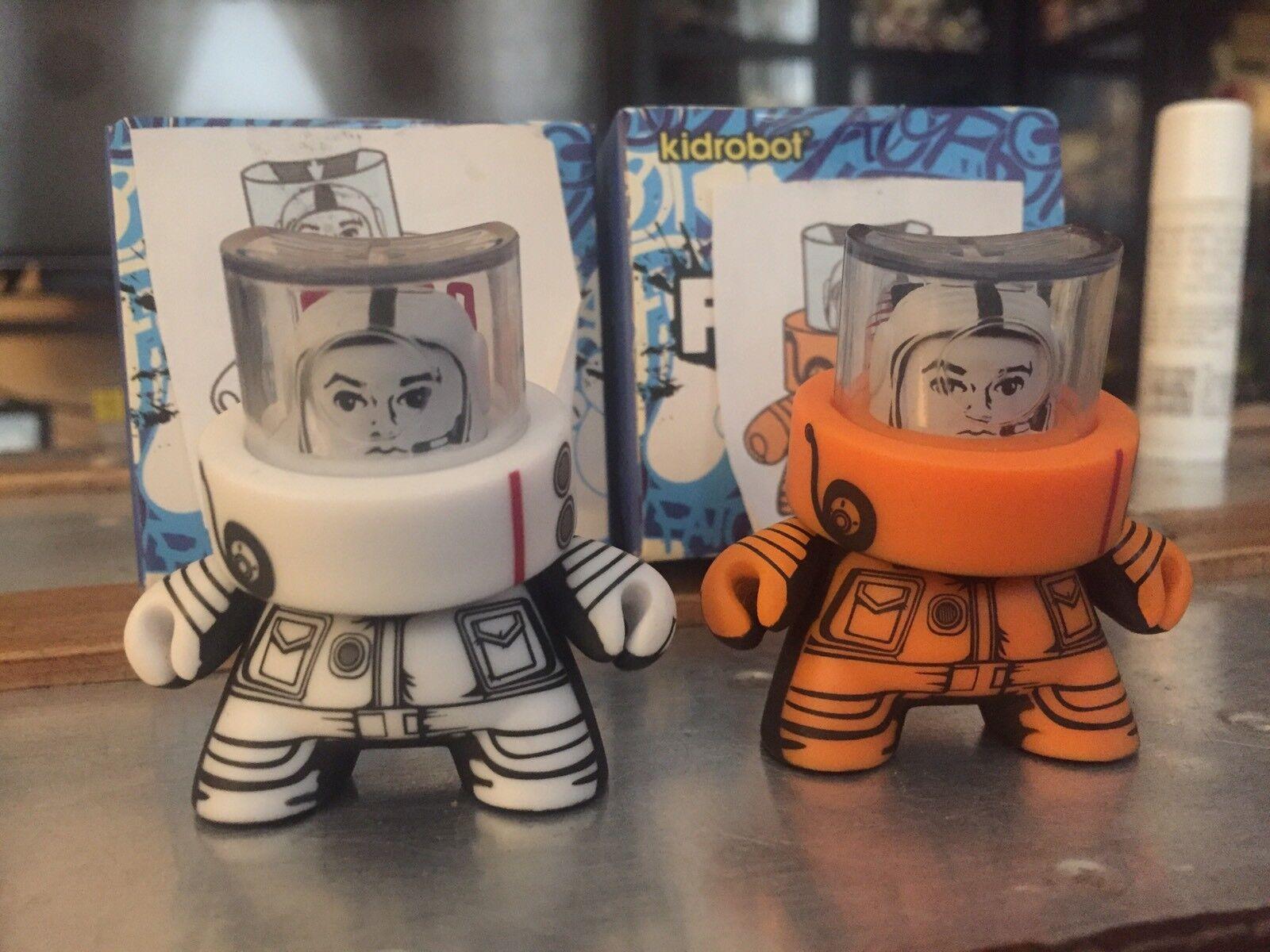 KidRobot FATCAP Series 3  JPK Signed AP Set  Rare Dunny  Limited Artist Proof