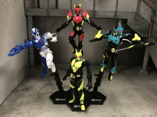 Japan Rare Kamen Rider Zero-One So-do AI Wave1 4 Rider Figures Complete Set MISB