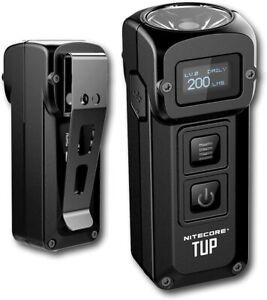 Nitecore-TUP-1000-Lumens-Poche-lumiere-lampe-de-poche-rechargeable-USB-porte-cle
