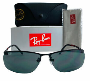 Ray-Ban Top Bar RB3183 006/71 Polarized Sunglasses Black ...