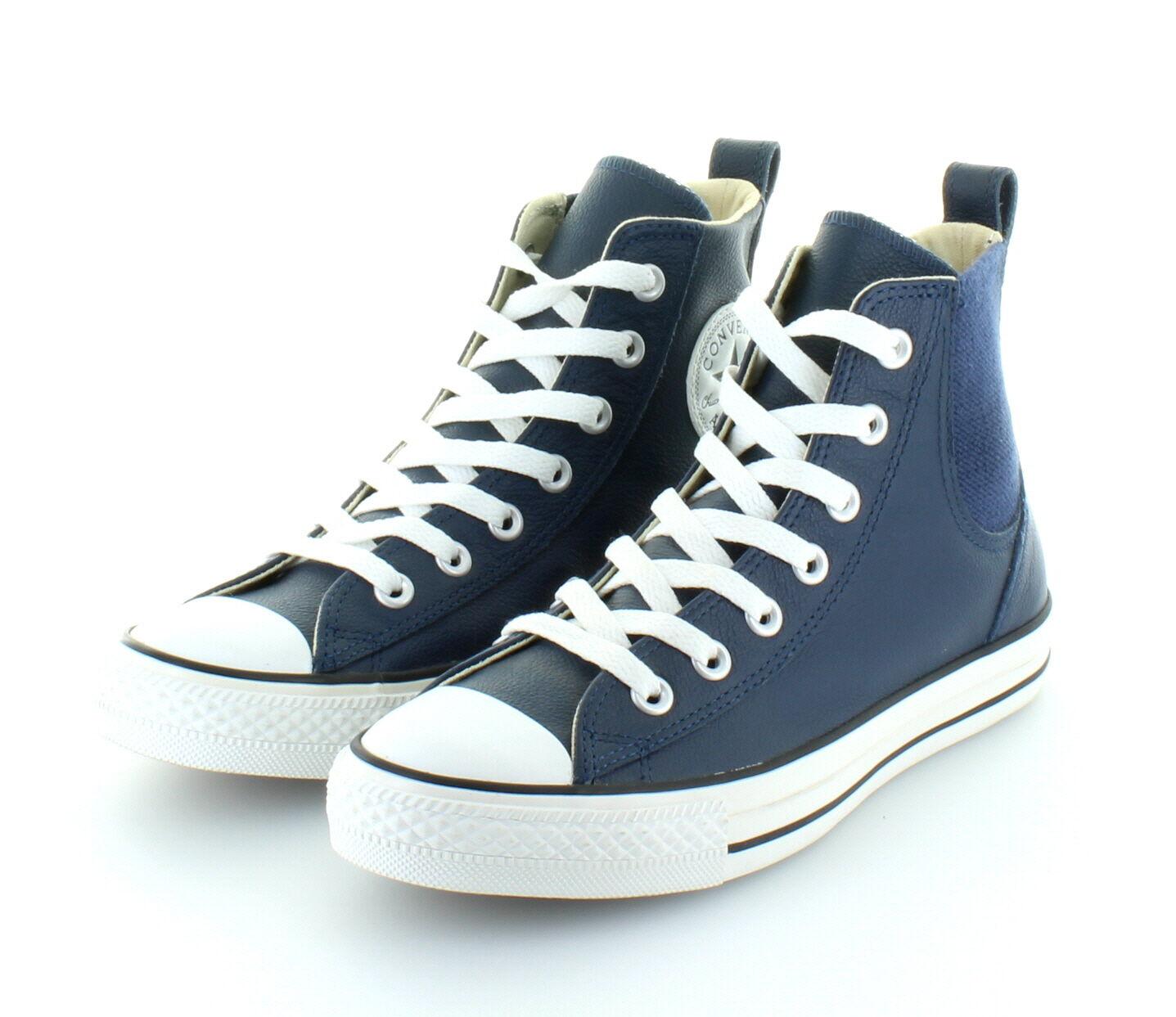 Zapatos promocionales para hombres y mujeres Converse All Star Chuck Taylor Hi Chelsee Navy Leder Gr. 37,5 / 38,5
