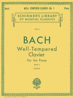 Well Tempered Clavier Book 1 Piano Solo Piano Large Works 050252030