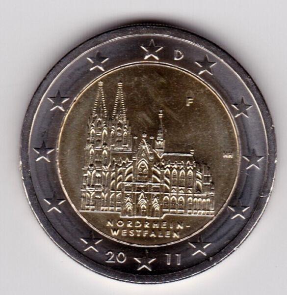 2 Euros 2011 Allemagne Commémorative Neuve Atelier F Cool En éTé Et Chaud En Hiver