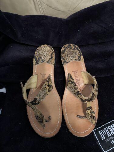 Jack Rogers Snake Sandels