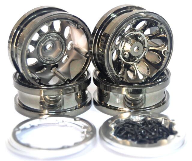 "Neu 1.9 "" Beadlock wheels  4pcs für  Tamiya / AXIAL SCX10 / RC4WD 12mm HEX"