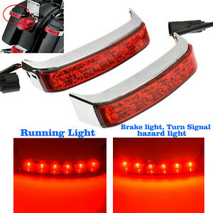 Red LED Saddlebag Run//Brake//Turn Lamp For Harley-Davidson Ultra Limited FLHTK