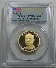 2015 S Presidential Dollar Set PCGS PR69DCAM First Strike