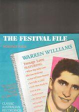 WARREN WILLIAMS - teenage love LP