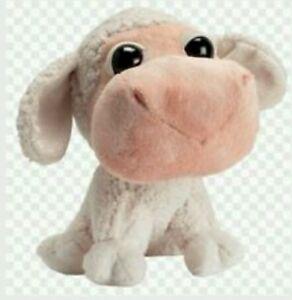 Ouvert D'Esprit Peluche Pecora Amici Della Fattoria Pupazzo Big Headz Sheep Plush Soft Toys Artisanat Exquis;