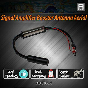Duluxe-Inline-Stereo-Radio-AM-FM-Hidden-Antenna-Aerial-For-Car-Truck-SUV-4x4