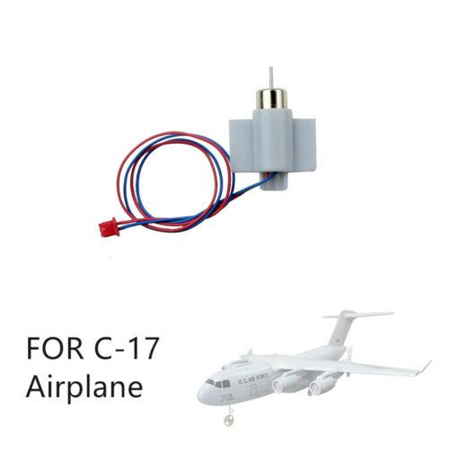 Puissance fonctionnelle CW//CCW amovible Motor assemblé les pièces pour C-17 RC avion