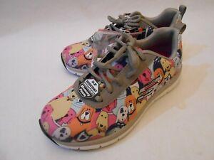 Skechers Lite Weight Black Memory Foam Flex Sole Sneakers 7 EUR 37   eBay
