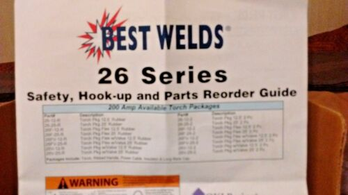 Best Welds Part Number 26FV-25-R