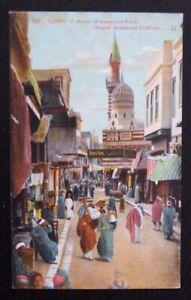 Vintage-Colour-Postcard-CAIRO-Mosque-Mohammed-el-Worde-Unused-in-VGC