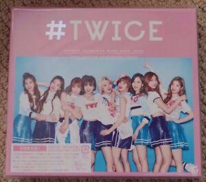 TWICE-TWICE-Japan-1st-Album-Limited-Edition-A-CD-Photobook-No-Photocard