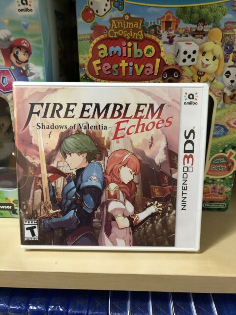 Fire Emblem Echoes Shadows Of Valentia (Nintendo 3DS) Brand NEW Factory Sealed